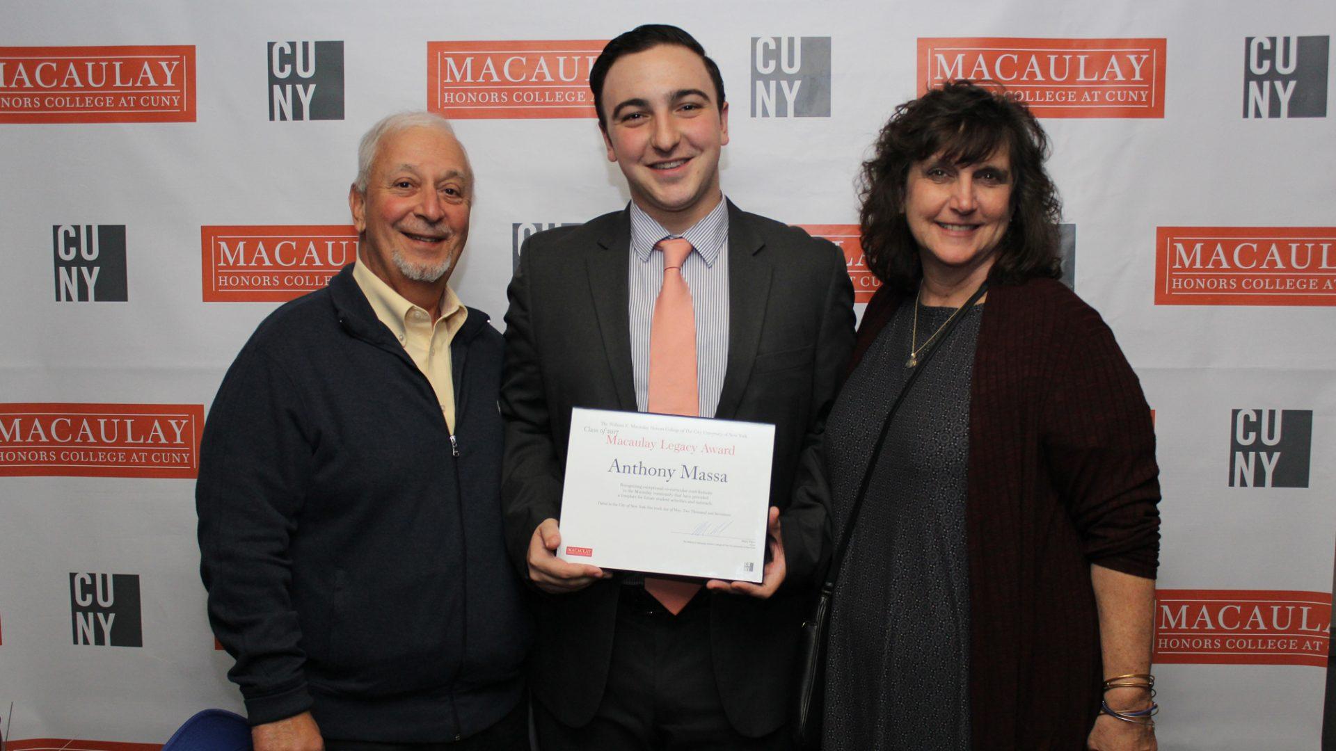 Anthony Massa and Family