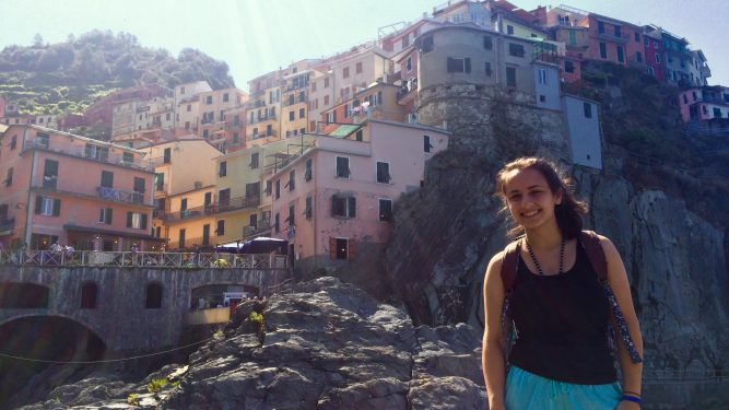 Photo of a Student's Study Abroad Trip