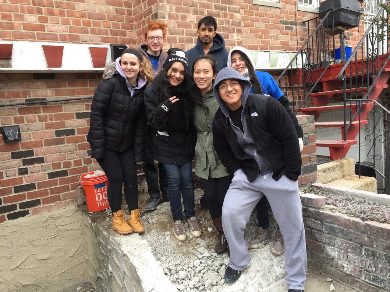 Macaulay community service day 4/1/2017