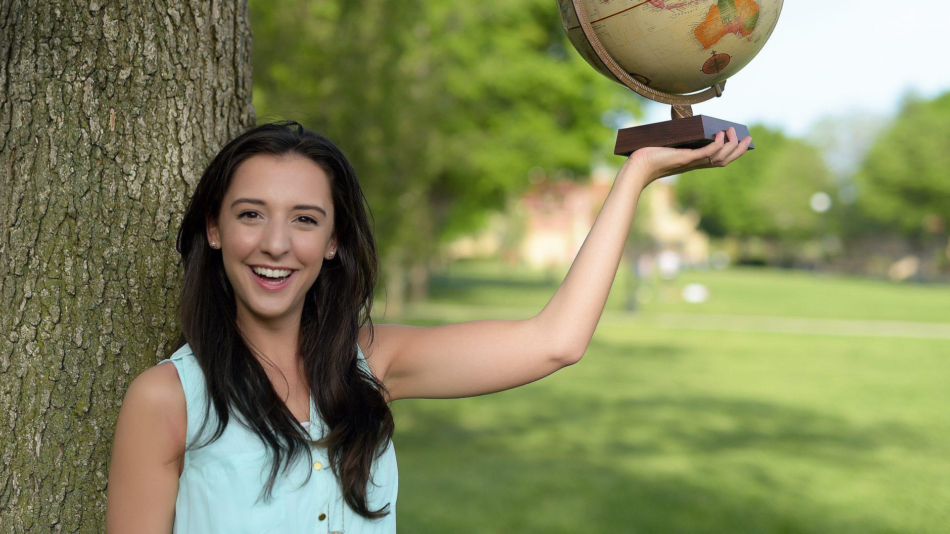 Karissa Caputo, a Macaulay student who won a Fulbright Scholarship