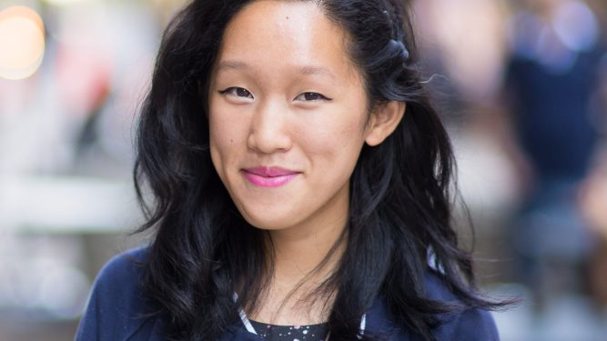 Macaulay Honors College student Michelle Sheu.