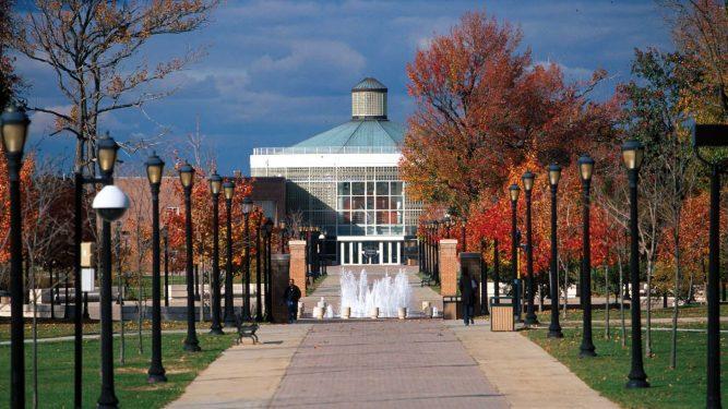 College of Staten Island Walkway