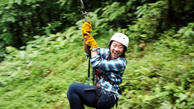 Recent Study Abroad Experiences featuring photo of Sara Louie in Costa Rica