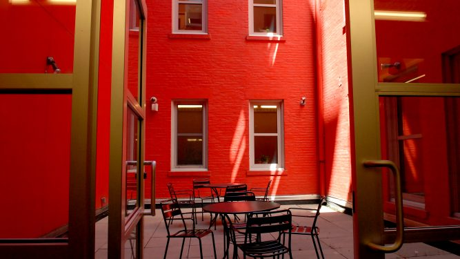 Macaulay courtyard
