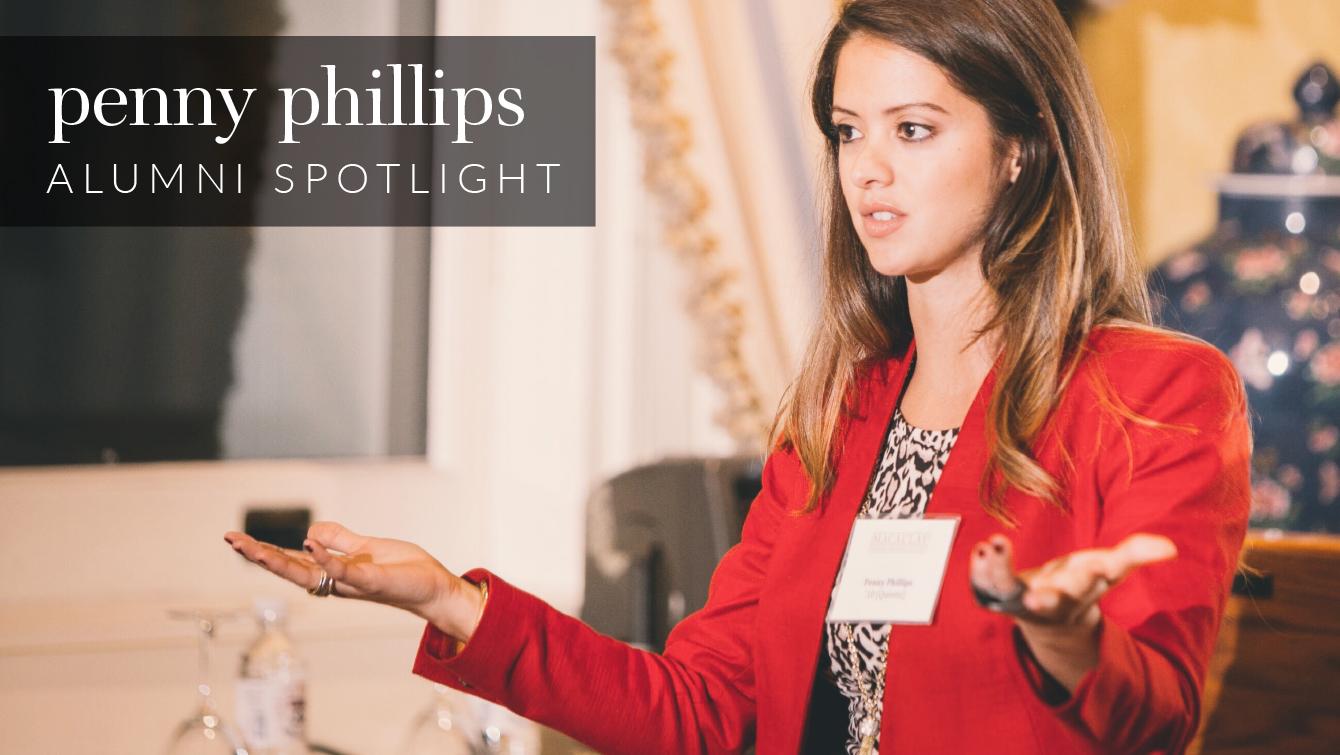 Alumni Spotlight Penny Phillips