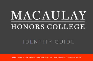 Macaulay Identity Guide Cover