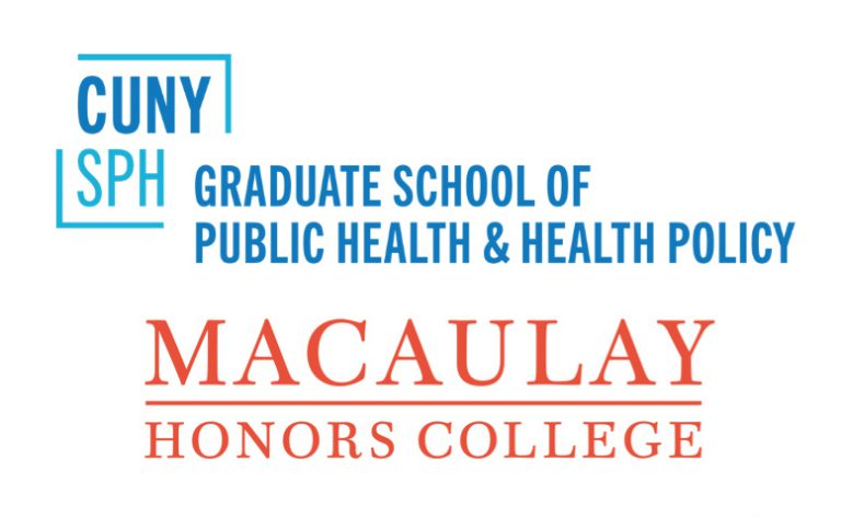 CUNY School of Public Health logo lockup